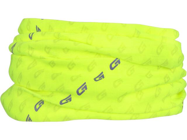 GripGrab Multifunctional Reflective Hi-Vis Neck Warmer fluo yellow